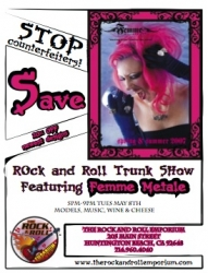 Stop Counterfeiters: Rock & Roll Trunk Show Showcases Authentic Femme Metale Jewelry