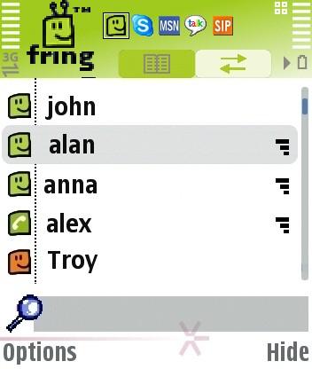 Fring спира да поддържа Skype Main