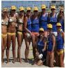 Paul Martin's American Bistro Sponsors Winning Beach Volleyball Team at 2009 Surf International Festival