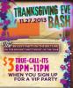 Thanksgiving Eve Bash at McFadden's Addison