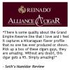 "Expanding Empire: Alliance Cigar to Distribute Highly Rated REINADO® ""Grand Empire Reserve"" Cigar Line"