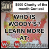 Kansas City, HappyBottoms.org Big $500 Winner from Woody's Automotive Group's Monthly Facebook Charity Contest