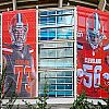 Paramount & Co. Installed Nine Large Frames at the Cleveland Browns Stadium Using Tensioning Solutions Banner Stretching System