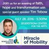 Tim Tebow Headlining Free Wheelchair Mission's 13th Annual Miracle of Mobility Gala