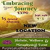 The Embracing Your Journey Expo the Leading Holistic, Wellness and Metaphysical Event in the Valley, Announces a New Location for September