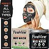 FineVine Activated Charcoal Mud Mask, One of the Latest Facial and Body Masks on the Market, Rejuvenates and Detoxifies the Skin