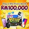 Gamestrike Launches Gorilla Smash and Offers RM100,000 Worth of Prizes