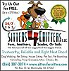 Sitters4Critters Introducing Pet Nanny Services in Levittown. Caring for Your Pet When Class is Back in Session.