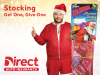 """Direct Auto Insurance Celebrates the Season of Giving with Charitable """"Stocking Get One, Give One"""" Sweepstakes"""