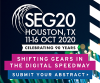 Society of Exploration Geophysicists 2020 Exhibition and 90th Annual Meeting;  Call for Abstracts is Open