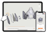 Call to Action for At-Home Respirator-Makers:  Free 3D Instructions Make 3D Printed Masks Easier to Assemble