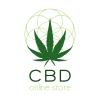 CBD Online Store Signs with Bloom Hemp