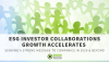 ESG Investor Collaborations Growth Accelerates Sending a Strong Message to Companies in 2020 & Beyond