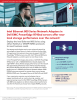 Principled Technologies Releases Study on Intel Ethernet 800 Series Network Adapters in Dell EMC PowerEdge R740xd Servers