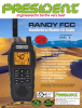 """President Electronics USA Introduces the """"RANDY FCC"""" Handheld or Mobile CB Radio"""