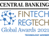 SkySparc Named Technology Advisor of the Year in Central Banking's Fintech Awards 2021