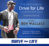 Ben Wallace Joins the 39th Annual Drive for Life Foundation Gala as Special Guest Speaker