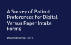 Lobbie Institute Releases Study - Use of Digital Intake Forms in Doctors' Offices
