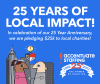 Accentuate Staffing Celebrates 25 Years in Business with Charitable Giving Campaign