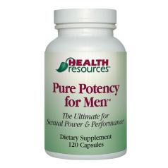 Pure potency for men