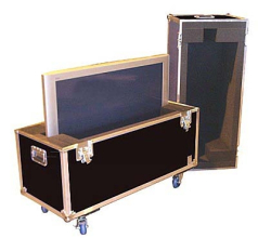 Custom Road Cases for all kinds of Equipment, LCD/Plasma Screens DJ Sound Boards