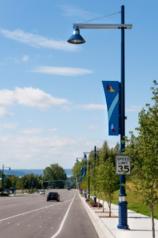 Decorative street light poles