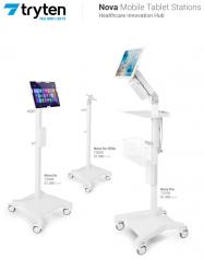 Nova Pro Medical Tablet Station - Basic - Please Call to Order 281-340-2013