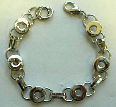 Fashion bracelet in multi circle pattern design