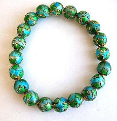Asian jewelry wholesaler wholesale enameling cloisonne handmade jewelry bracelet