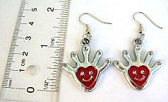 Shopping online jewelry wholesale supplier supply Fashion fish hook earring in enamel assorted color