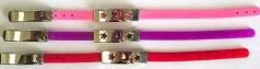 Bracelet slide wholesale - Assorted color fashion bracelet with carved-out moon star