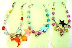 Jewelry supplier wholesale teen's summer jewlery Fashion anklet design with heart and flower beads a