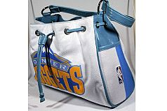 Denver Nuggets Logo NBA Leather Handbag