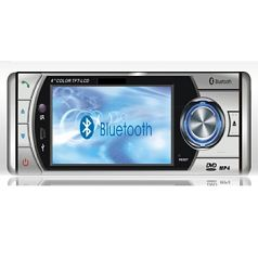"""4""""Touch Screen DVD Player with Bluetooth +RDS"""