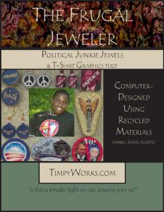 The Frugal Jeweler - Political Junkie Jewels