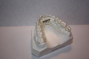 Clear Fusion Hybrid Orthodontic Retainer