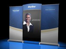 Myriad Banner Stand Backwall