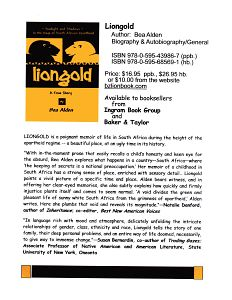 Comments by those who reviewed LIONGOLD
