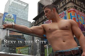 Sexy in the City 2010 calendar cover