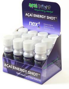 Açai Roots' nex4 Açaí Energy Shot