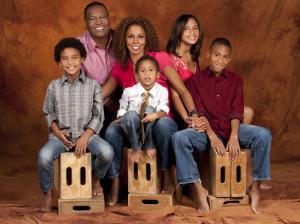 Photo: Robinson-Peete Family