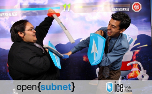 A Friendly Sword Fight at Web 2.0 Expo