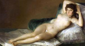 Goya Old Master models the Little Rooster