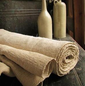 Natural, earthy fabrics