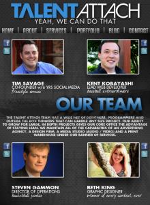 Talent Attach Our Team Tab