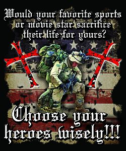 Choose Your Heroes Wisely Patriotic Gifts T Shirts