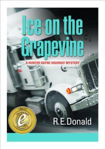 Ice on the Grapevine, a Hunter Rayne highway mystery