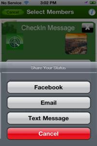 Screenshot of Rapid Tracker App 5