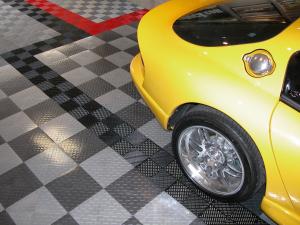 TuffShield Diamond & FreeFlow tile floor