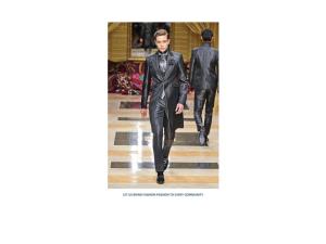 The fashion world media image